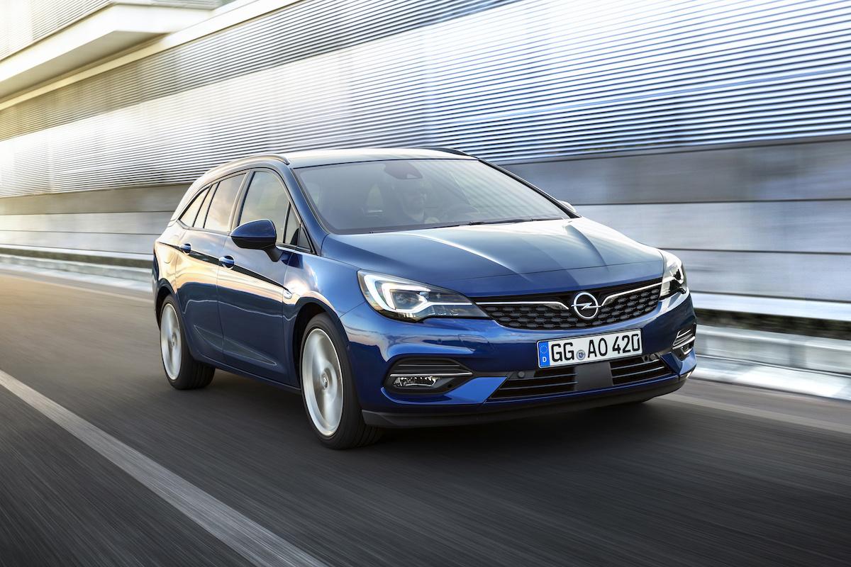 Opel Astra 2020: aerodinamica e tante novità